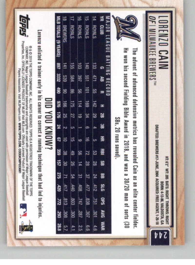 2019-Topps-BIG-LEAGUE-MLB-Baseball-GOLD-Parallel-Pick-Your-Cards-Make-a-Lot thumbnail 283