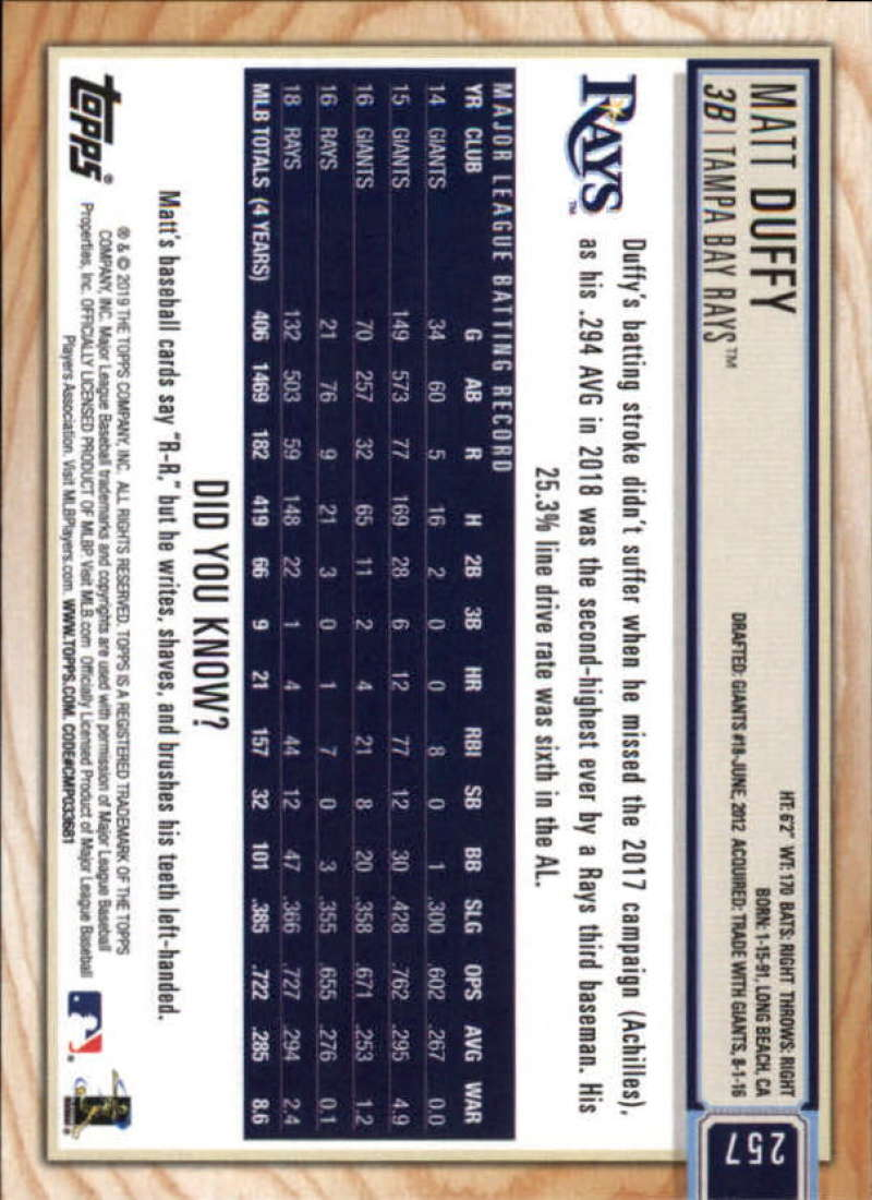 2019-Topps-BIG-LEAGUE-MLB-Baseball-GOLD-Parallel-Pick-Your-Cards-Make-a-Lot thumbnail 297