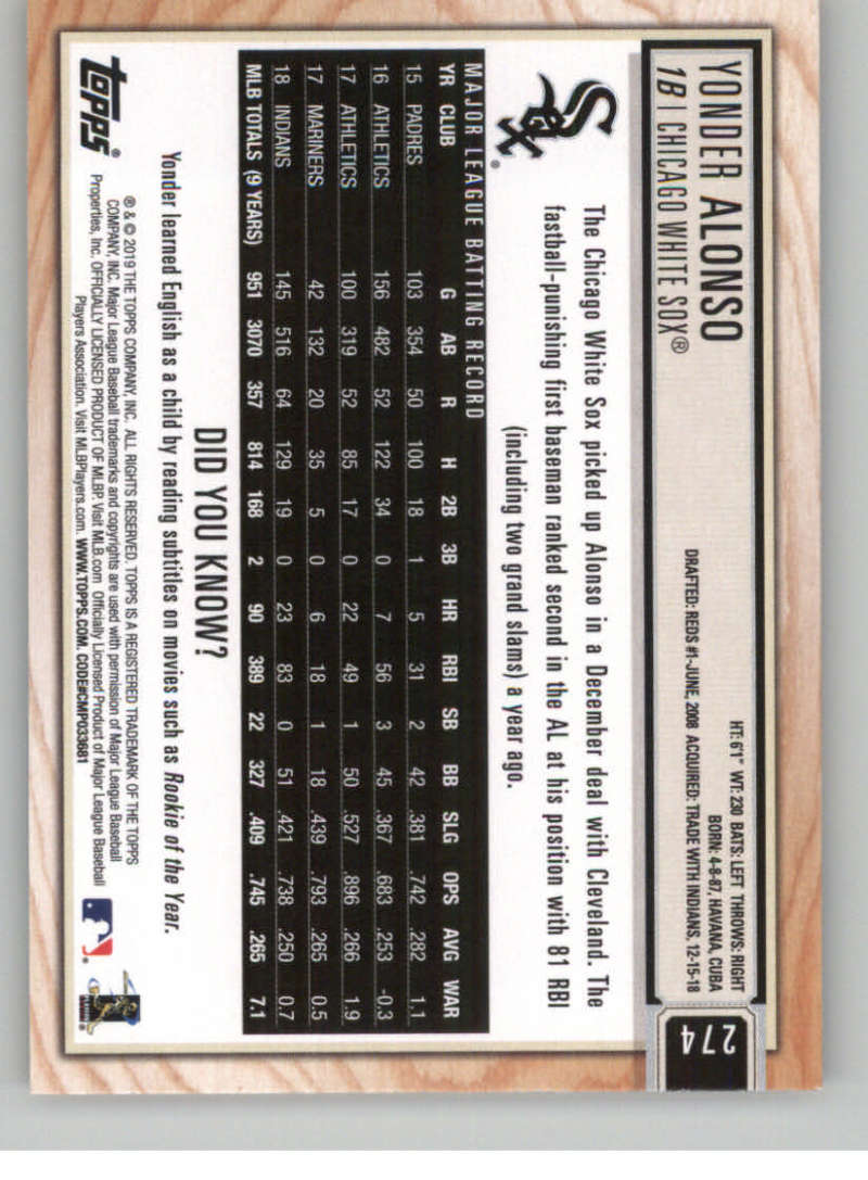 2019-Topps-BIG-LEAGUE-MLB-Baseball-GOLD-Parallel-Pick-Your-Cards-Make-a-Lot thumbnail 317