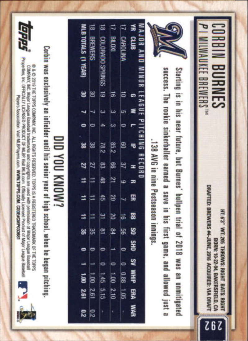 2019-Topps-BIG-LEAGUE-MLB-Baseball-GOLD-Parallel-Pick-Your-Cards-Make-a-Lot thumbnail 345
