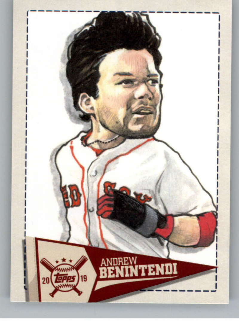 2019 Topps Big League Star Caricature Reproductions