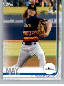 2019 Topps Pro Debut Baseball #26 Dustin May Tulsa Drillers  Official Minor League MiLB Trading Card