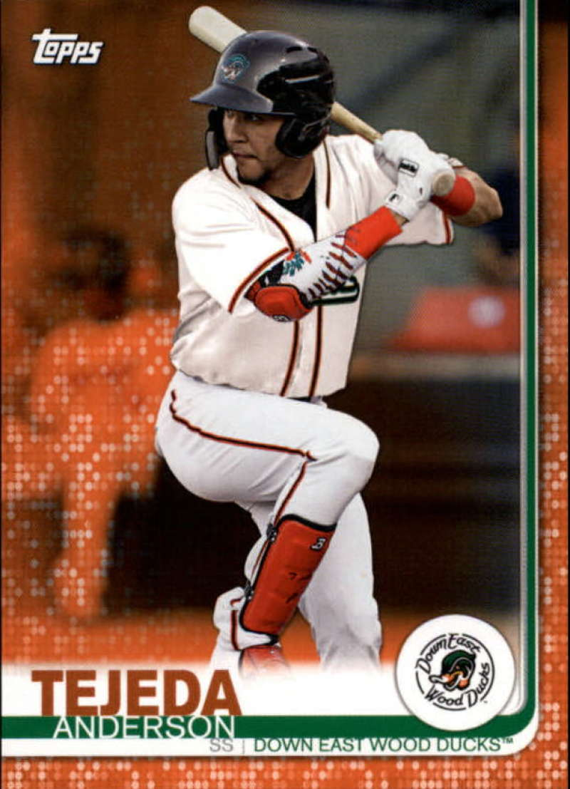 2019 Topps Pro Debut Orange