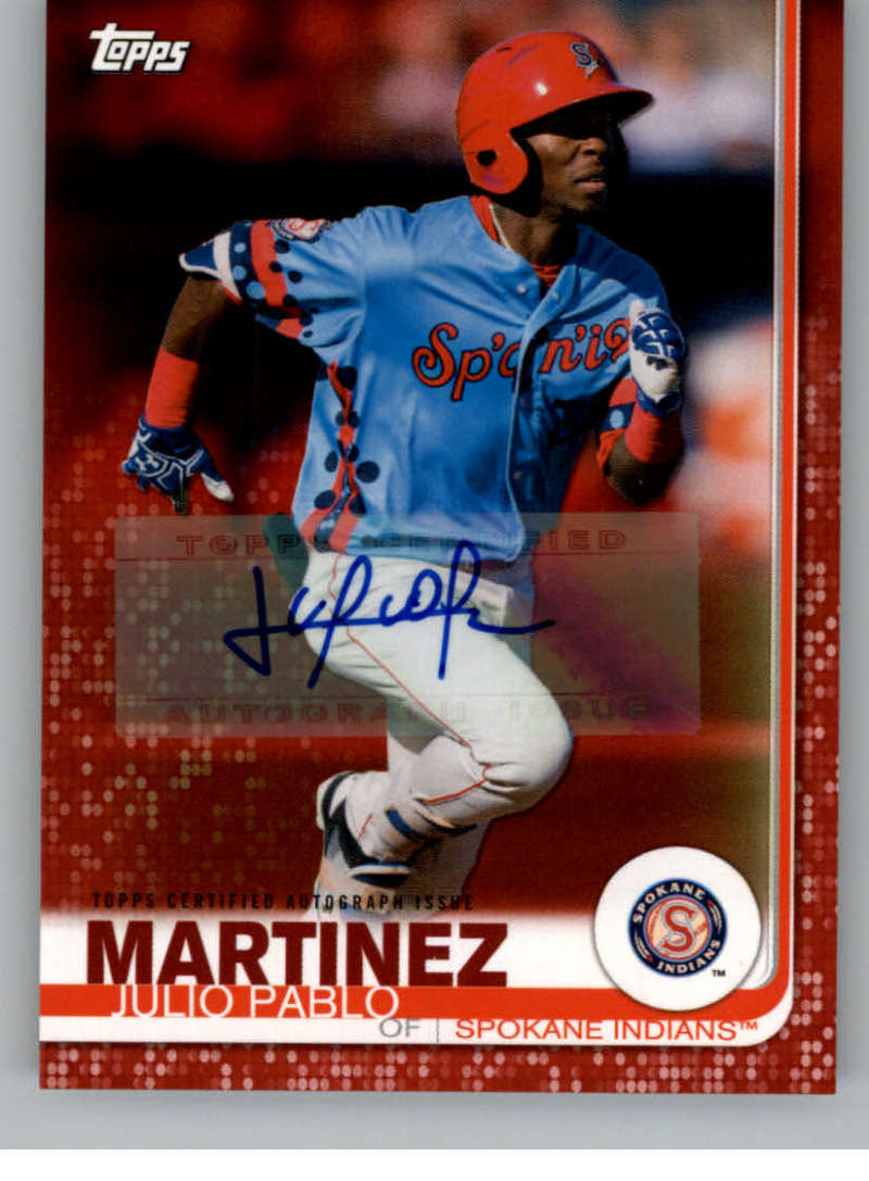 2019 Topps Pro Debut Autographs Red