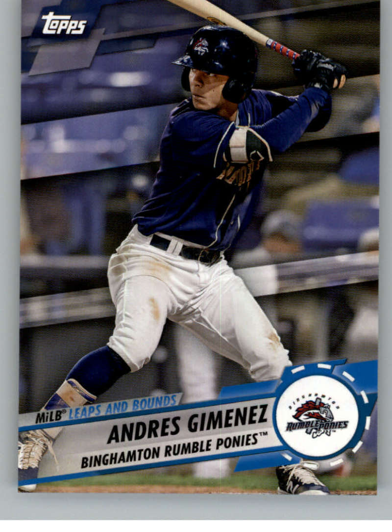 2019 Topps Pro Debut MiLB Leaps and Bounds