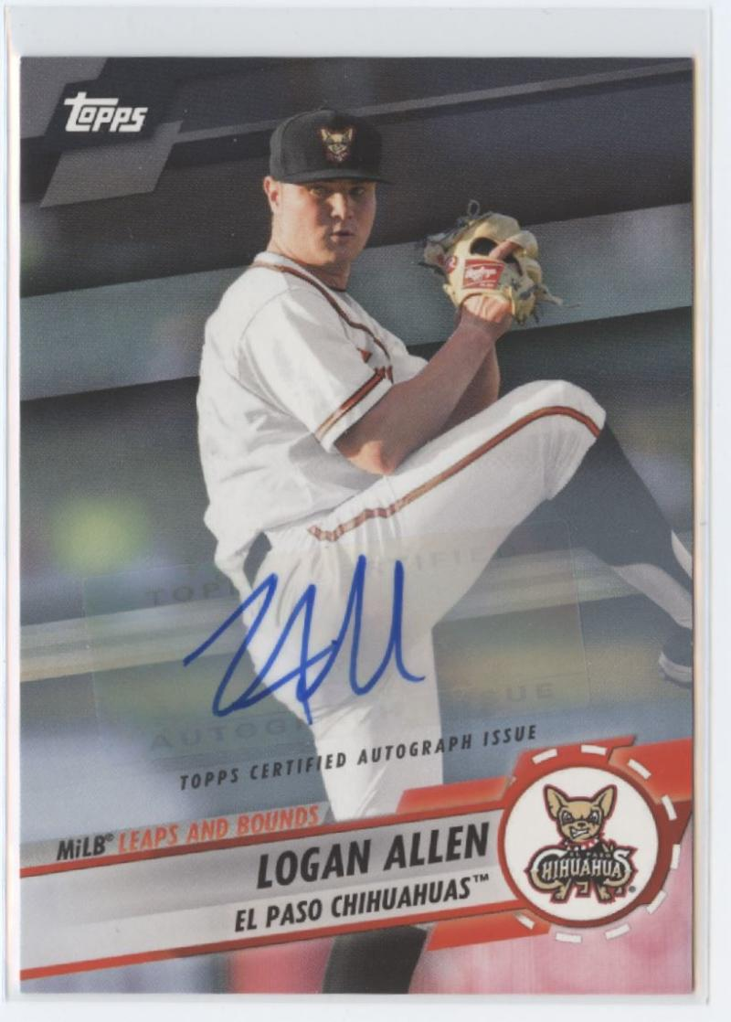 2019 Topps Pro Debut MiLB Leaps and Bounds Autographs