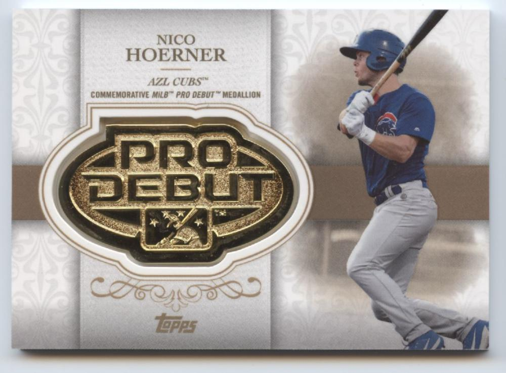 2019 Topps Pro Debut Distinguished Debut Manufactured Medallion