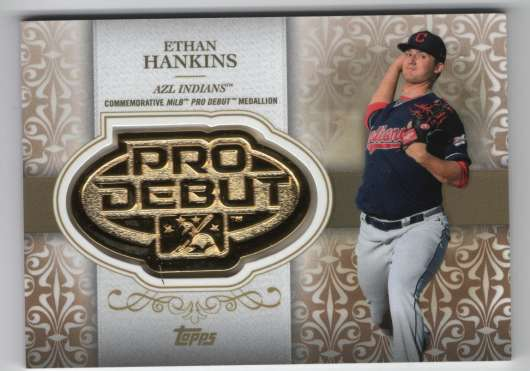 2019 Topps Pro Debut Distinguished Debut Manufactured Medallion Gold