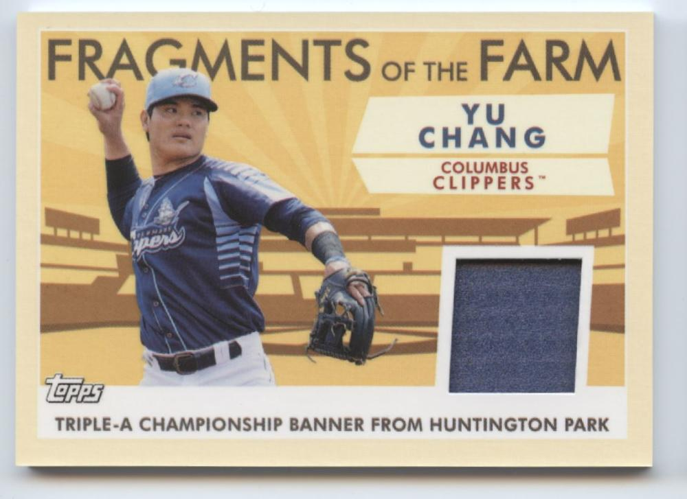 2019 Topps Pro Debut Fragments of the Farm Relics