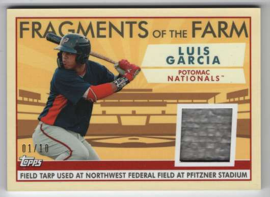 2019 Topps Pro Debut Fragments of the Farm Relics Red