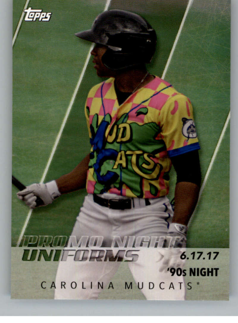 2019 Topps Pro Debut Promo Night Uniforms