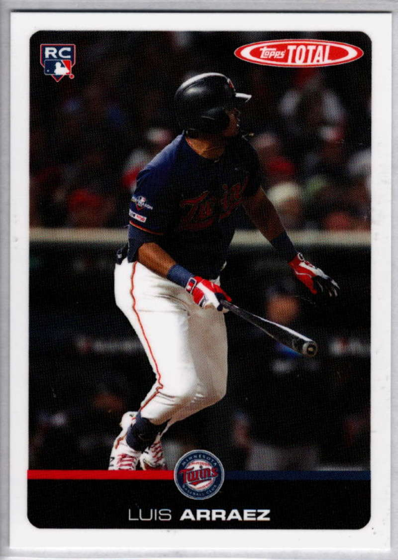 2019 Topps Total (Wave 9) Baseball #829 Luis Arraez  Minnesota Twins  RC Rookie  Official MLB Trading Card ONLINE EXCLUSIVE Limited Print Run
