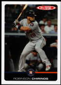 2019 Topps Total (Wave 5) Baseball #497 Robinson Chirinos Houston Astros  Official MLB Trading Card Limited Print Run (no streaks on actual card)
