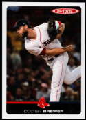 2019 Topps Total (Wave 5) Baseball #499 Colten Brewer Boston Red Sox  Official MLB Trading Card Limited Print Run (no streaks on actual card)