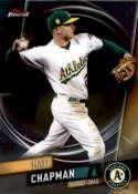 2019 Finest #5 Matt Chapman NM-MT Oakland Athletics