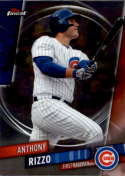 2019 Finest #65 Anthony Rizzo NM-MT Chicago Cubs