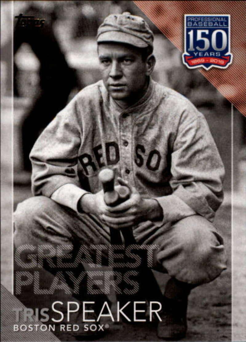 2019 Topps 150 Years of Baseball Greatest Players #GP-24 Tris Speaker NM-MT Red | eBay