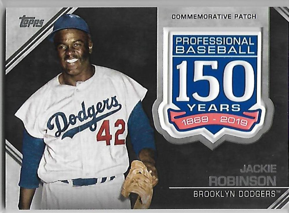 2019 Topps  150th Anniversary Manufactured Patches