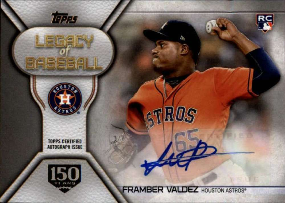 2019 Topps  Legacy of Baseball Autographs Series 2 150th Anniversary