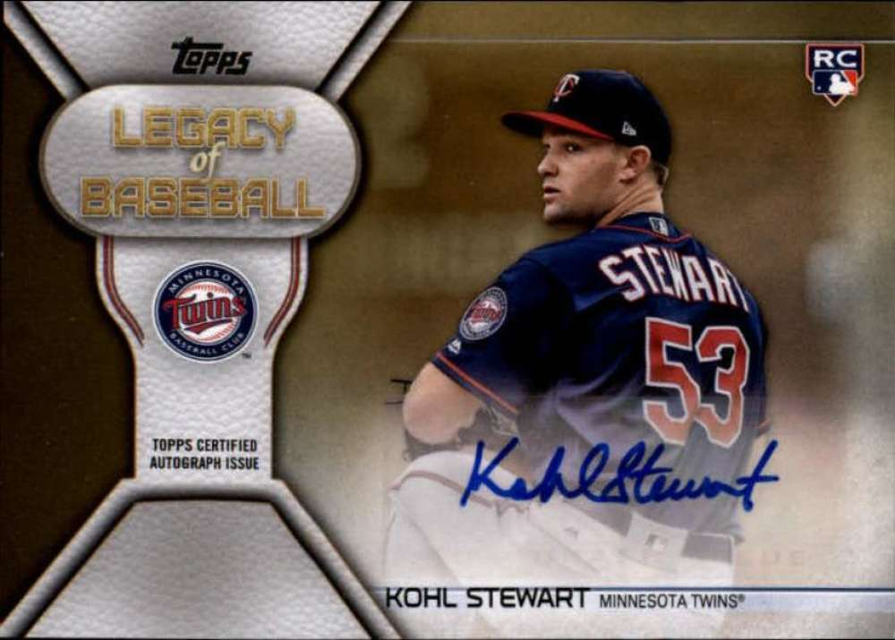 2019 Topps  Legacy of Baseball Autographs Series 2 Gold