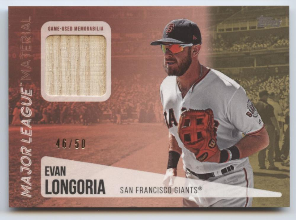 2019 Topps  Major League Material Series 2 Gold