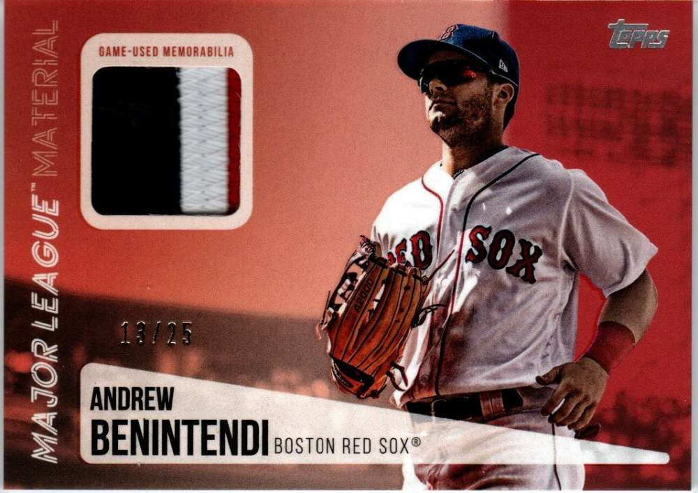 2019 Topps  Major League Material Series 2 Red