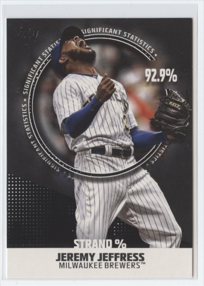 2019 Topps  Significant Statistics Black