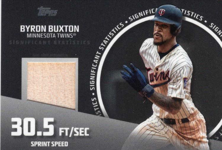 2019 Topps  Significant Statistics Relics