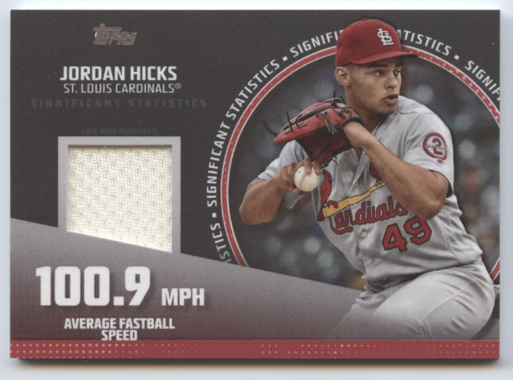 2019 Topps  Significant Statistics Relics Red
