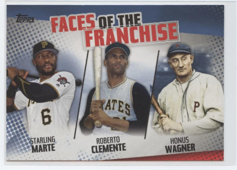 2019 Topps  Faces of the Franchise Trios Blue