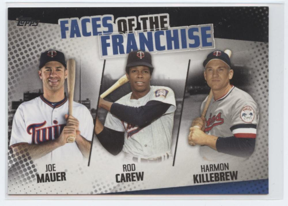 2019 Topps  Faces of the Franchise Trios Black