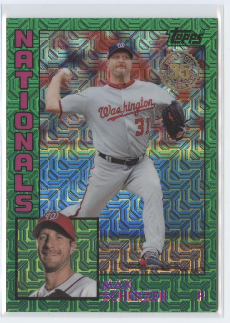 2019 Topps Silver Pack Series Two Refractors Green