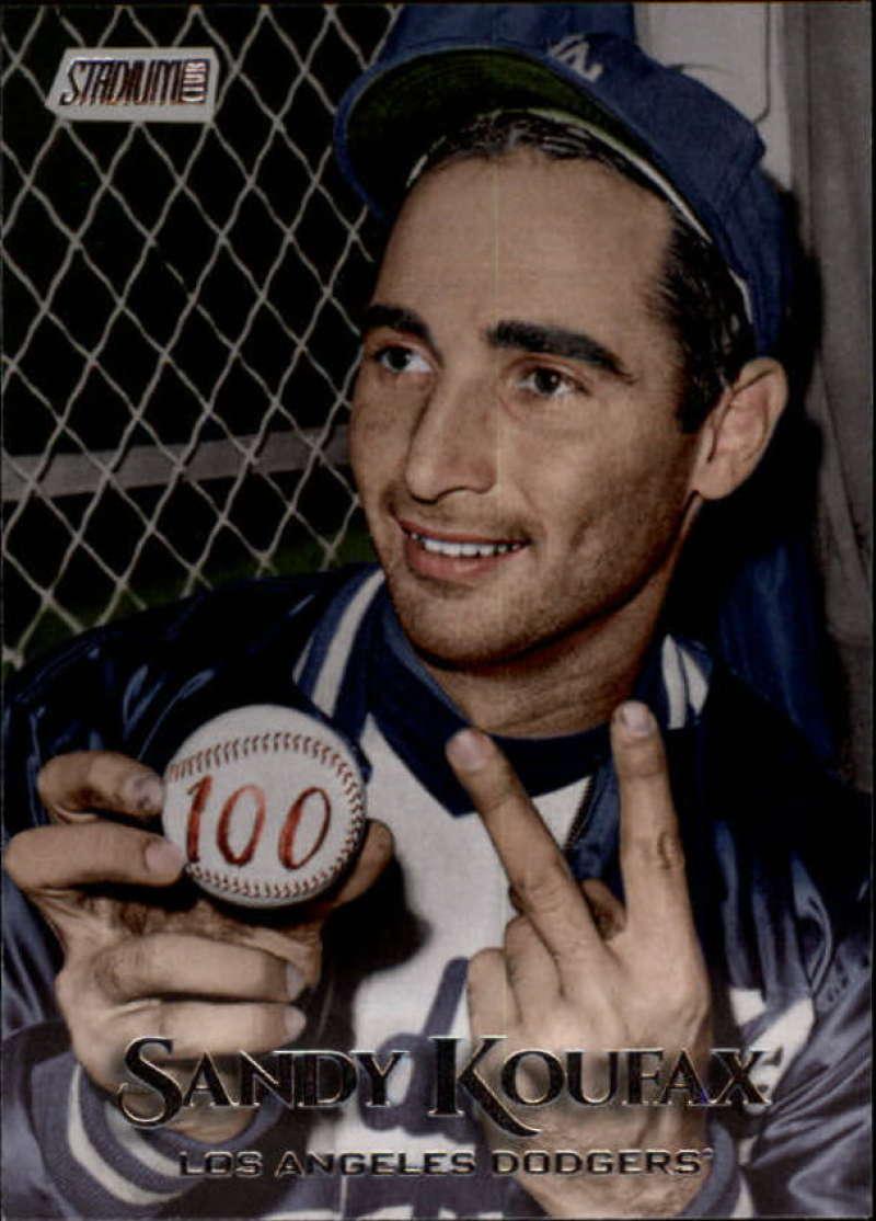 2019 Topps Stadium Club #192 Sandy Koufax NM-MT Los Angeles Dodgers