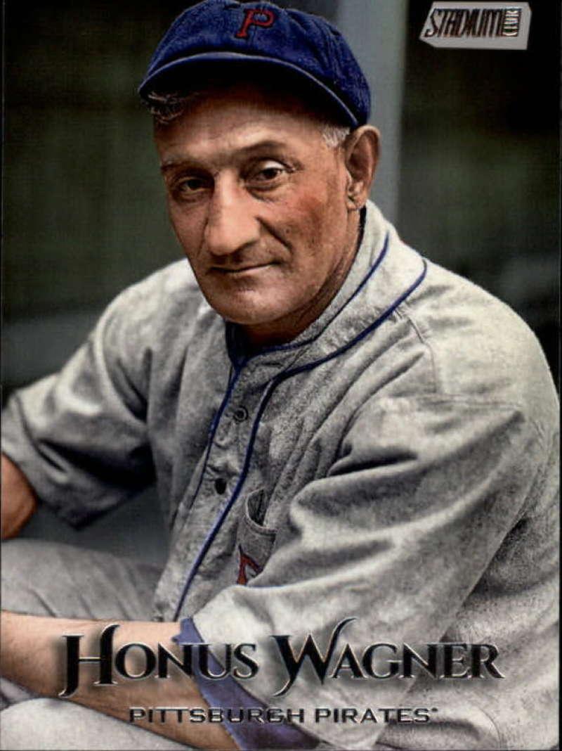2019 Topps Stadium Club #236 Honus Wagner NM-MT Pittsburgh Pirates