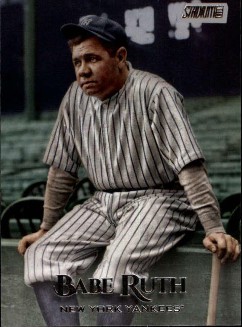 2019 Topps Stadium Club #259 Babe Ruth NM-MT New York Yankees