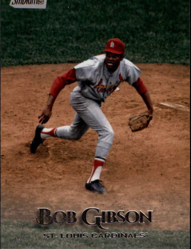 2019 Topps Stadium Club #266 Bob Gibson NM-MT St. Louis Cardinals
