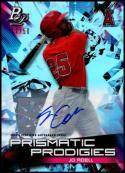2019 Bowman Platinum Prismatic Prodigies Autographs #PPP-1 Jo Adell NM-MT 17/50 Los Angeles Angels
