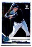 2019 Donruss Optic Baseball #95 Austin Riley Atlanta Braves Rated Rookie Official MLBPA Trading Card From Panini America