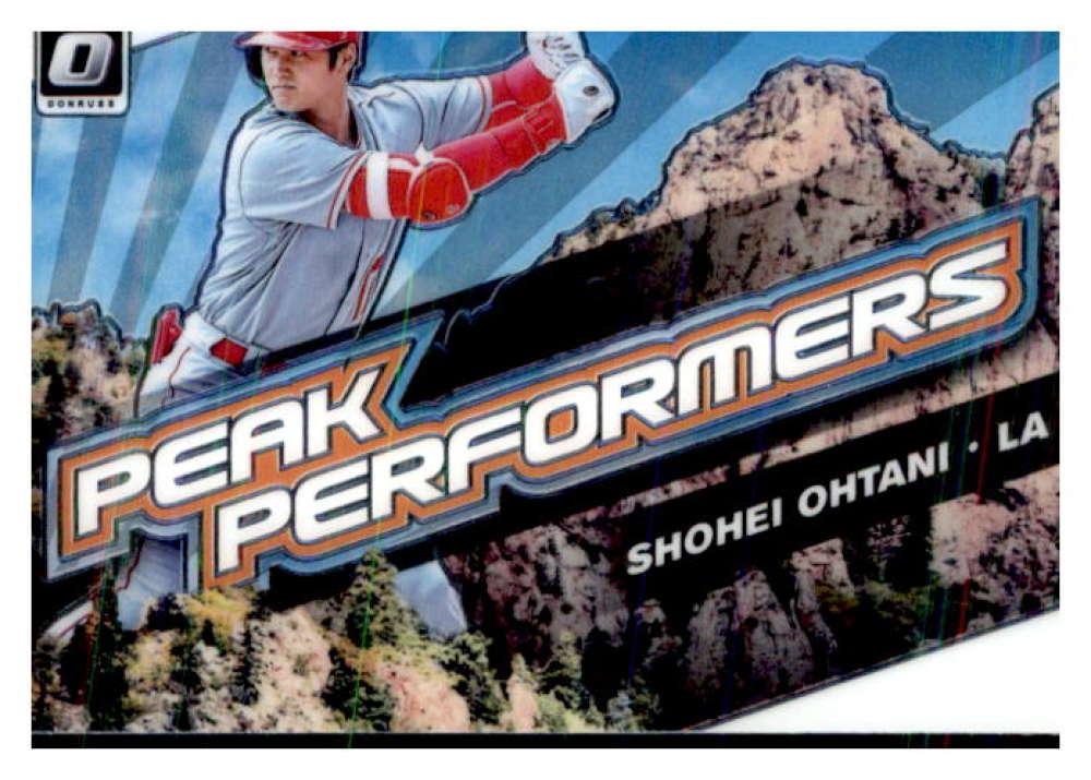 2019 Donruss Optic Peak Performers