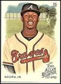 2019 Allen and Ginter #25 Ronald Acuna Jr. NM-MT Atlanta Braves