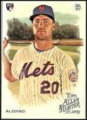 2019 Topps Allen and Ginter Baseball #182 Pete Alonso RC Rookie New York Mets  Official MLB Trading Card