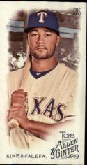 2019 Allen and Ginter Mini A/G Back #122 Isiah Kiner-Falefa