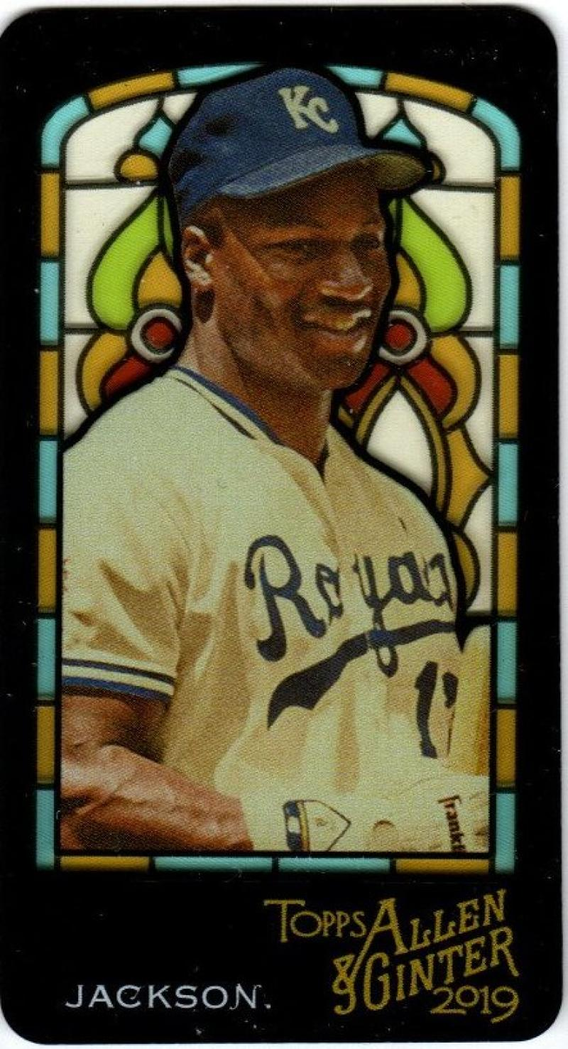 2019 Allen and Ginter  Mini Stained Glass