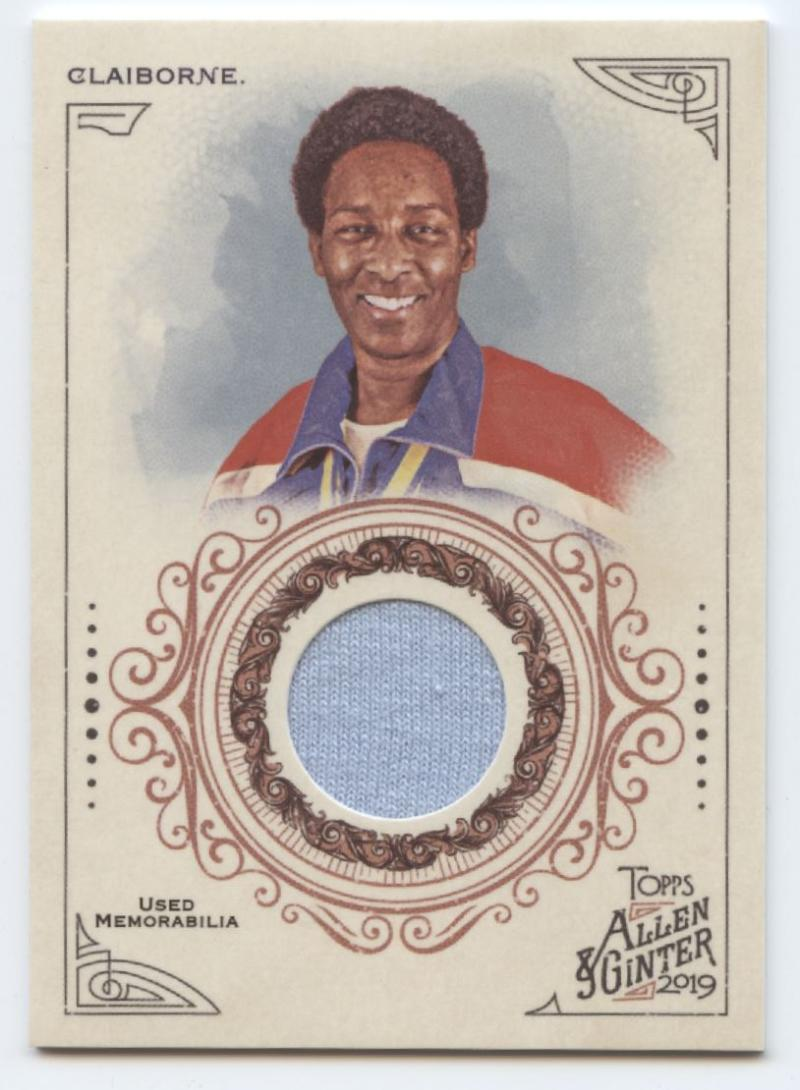 2019 Allen and Ginter  Full-Size Relics A