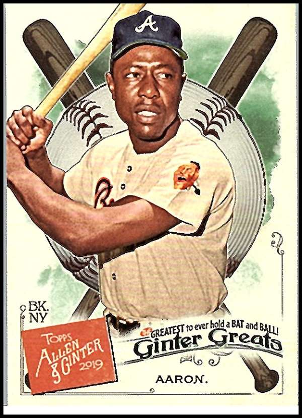 2019 Allen and Ginter  Ginter Greats