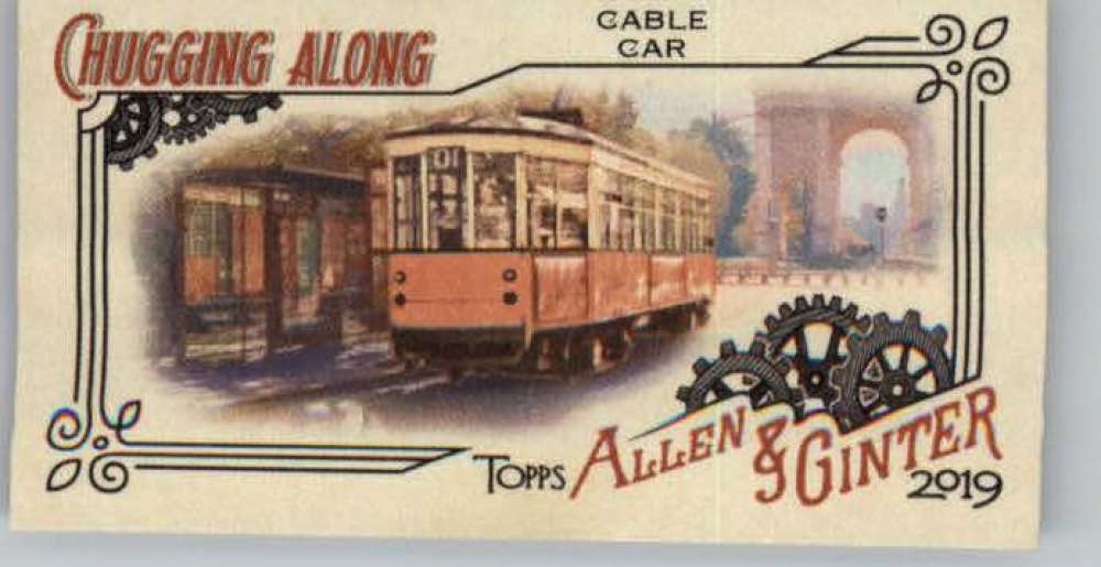 2019 Allen and Ginter  Chugging Along Train Mini