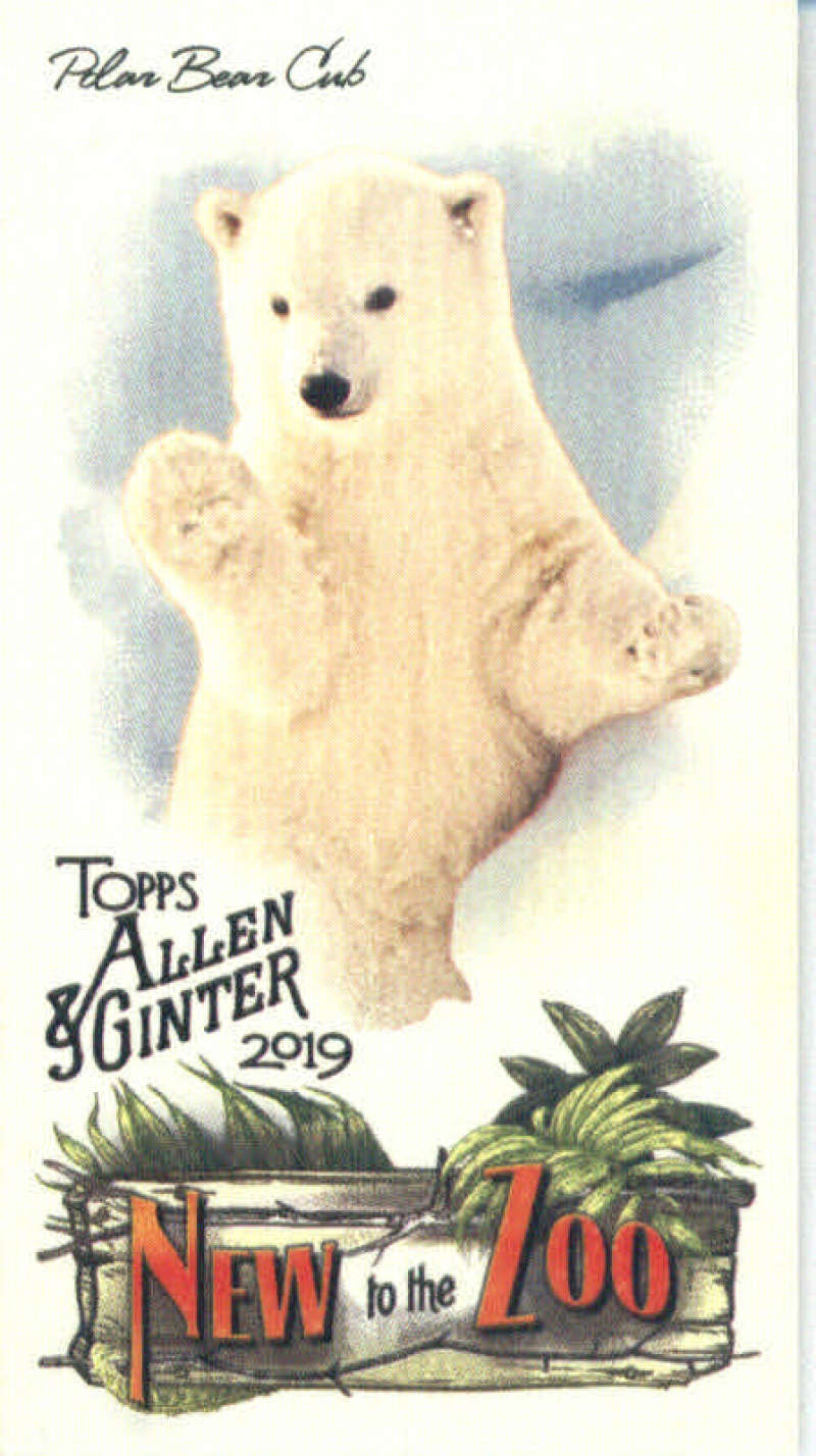 2019 Allen and Ginter  New to the Zoo Mini