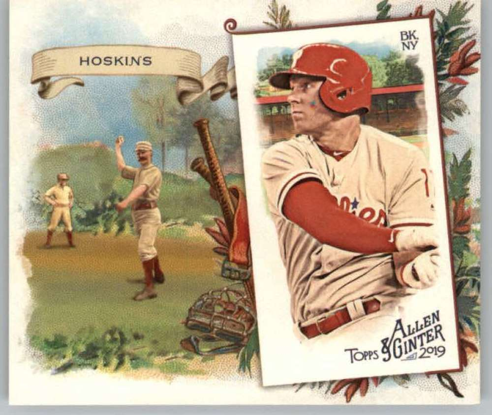 2019 Allen and Ginter  N43 Boxloaders