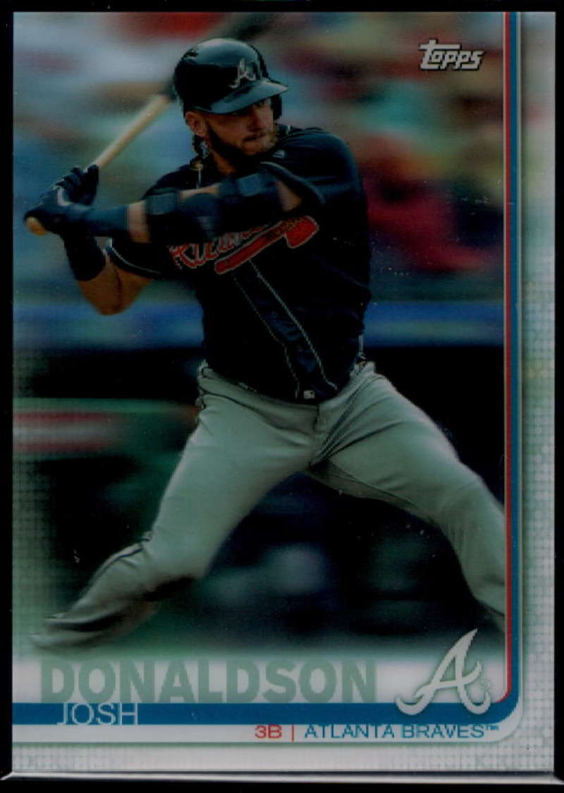 2019 Topps On Demand 3D Baseball US257 Josh Donaldson  Atlanta Braves  Official MLB Trading Card Limited to under 600 made