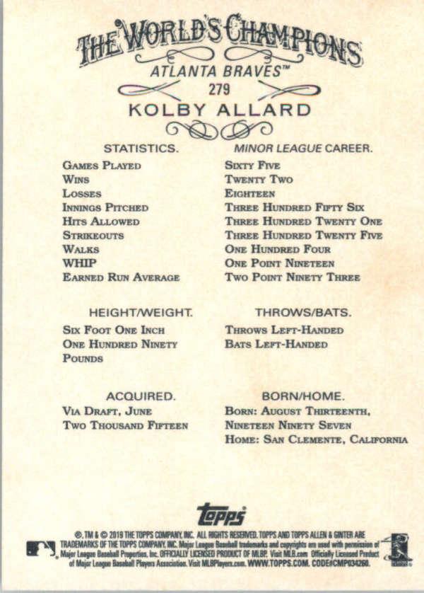 thumbnail 148 - 2019 Topps Allen & Ginter Baseball Gold Hot Box - Pick A Player - Cards 201-400